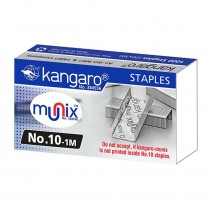 Kangaro Munix Staples No 10-1M (Pack of 20)