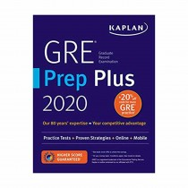 Kaplan GRE Prep Plus 2019 Practice Tests + Proven Strategies + Online + Video + Mobile