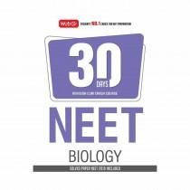 MTG Publication 30 Days Crash Course NEET BIOLOGY