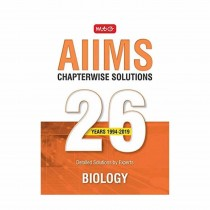 MTG Publication AIIMS Chapterwise Solution 26 Years Biology