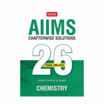 MTG Publication AIIMS Chapterwise Solution 26 Years Chemistry