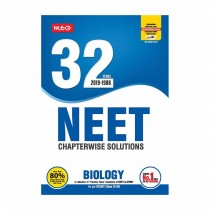 MTG Publication NEET Chapterwise Solutions 32 Years BIOLOGY