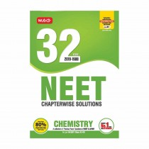 MTG Publication NEET Chapterwise Solutions 32 Years Chemistry