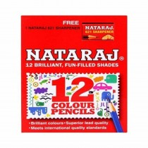 Nataraj Colour Pencils Half Size