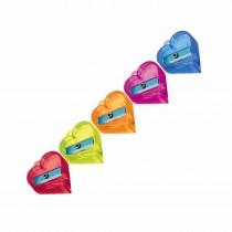 Nataraj Crystal Heart Sharpeners (Jar of 50)