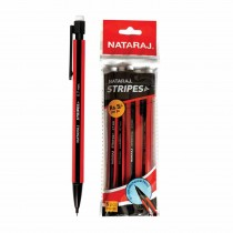 Nataraj Stripes Mechanical Pencil (Pouch of 10)