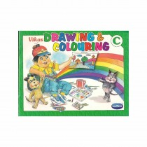 Navneet Drawing & Colouring  C For Nursery and KG