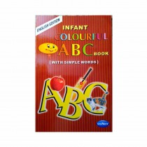 Navneet Infant Colourful ABC English For Nursery and KG