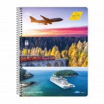 Navneet Youva 3 Subject Note Book 150 Pages (Spiral Bound)