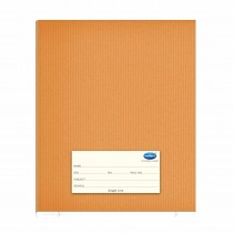 Navneet Youva Brown Note Book Full Bound Regular Size (15.5x18.8)cm (Pack of 6)