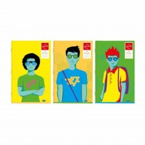 Navneet Youva Trendy Series Long Book Soft Bound (Pack of 4)