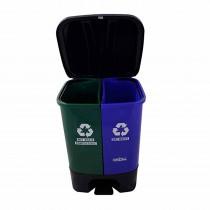 Nayasa 2 in 1 Pedal Plastic Bin