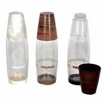 Nayasa Dew Drop Plastic Bottle 1000ml (Pack of 12)