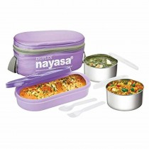 Nayasa Duplex Deluxe Insulated Tiffin 3 Container