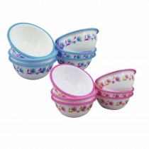Nayasa Micro Safe PP Deluxe Round Bowl No. 1 (Set of 6)