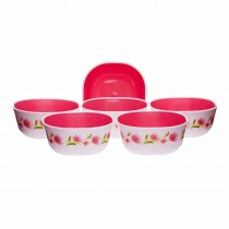 Nayasa Micro Safe PP Deluxe Square Bowl No. 1 (Set of 6)