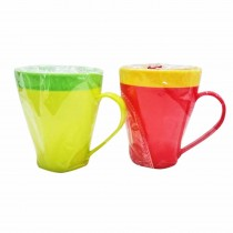 Nayasa Micro Safe PP Dino Milk Mug 400 ml (Pack of 3)