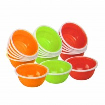 Nayasa Micro Safe PP Round Bowl No. 1 (Set of 6)