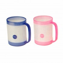 Nayasa Micro Safe PP Toss Millk Mug 350 ml (Pack of 3)