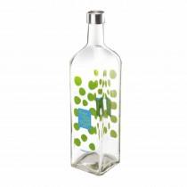 Nayasa Narrow Neck Glass Bottle 1000ml (Pack of 2)