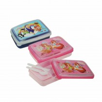 Nayasa Spill Guard 2 Kids Lunch Box (Pack of 6)