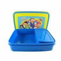 Nayasa Spill Guard 3 Kids Lunch Box (Pack of 6)