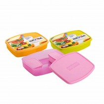 Nayasa Witty Big Lunch Box Kids Lunch Box (Pack of 6)