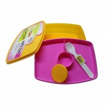 Nayasa Witty Double Decker Dlx Kids Lunch Box (Pack of 6)
