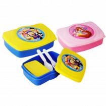 Nayasa Zoom Kids Lunch Box (Pack of 6)