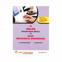 Nirali Prakashan A Online Question Bank (Mcq's) Of Basic Mechanical Engineering For FE Sem II By Domkundwar