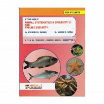 Nirali Prakashan Animal Systematics And Diversity III And Applied Zoology I (Paper - I, II)S. Y. B.Sc Sem I By Pawar, Desai