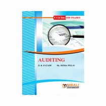 Nirali Prakashan Auditing Term 1 By Pillai For Ty B.Com