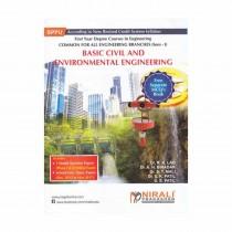 Nirali Prakashan Basic Civil & Environment Engg. For FE Sem I By Lad, Biradar & Other