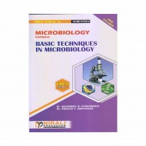 Nirali Prakashan Basic Techniques In Microbiology (Microbiology) (P-2) For F.Y. B.Sc. By Abyankar & Other