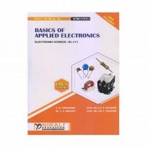 Nirali Prakashan Basics of Applied Electronics (P-1) For F.Y. B.Sc. By Chaudhari & Other