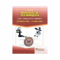 Nirali Prakashan Biological Techniques Paper 1 By Pawar For TY BSc