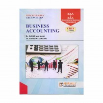 Nirali Prakashan Business Accounting For BBA I Sem CBCS Pattern By Kulkarni, Mahajan
