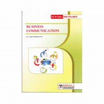 Nirali Prakashan Business Communication For S.Y.B.Com Sem I By Hiremath