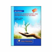 Nirali Prakashan Business Demography & Environmental Studies For BBA I Sem By Wagh, Shukla