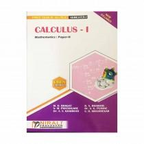 Nirali Prakashan Calculus 1 Mathematics  For F.Y. B.Sc. By Bhagat & Other