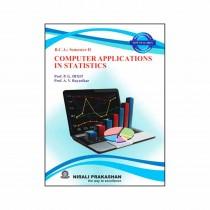 Nirali Prakashan Computer Applications In Statistics For BCA II Sem By Dixit, Rayarikar