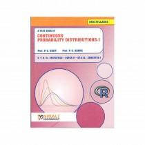 Nirali Prakashan Continuous Probability Distributions (Statistic - II) For S. Y. B.Sc Sem I By Dixit, Kapare