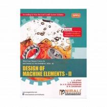 Nirali Prakashan Design Of Machine Elements II For TE Sem II Mechanical By Utpat & Other