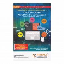 Nirali Prakashan Fund. Of Programming Languages For FE Sem I By Patil & Other