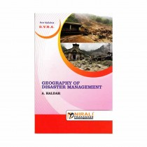 Nirali Prakashan Geography Of Disaster Management For S.Y.B.A. By Arindam Haldar