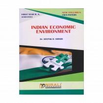 Nirali Prakashan Indian Economic Environment For F.Y.B.A. By Dr. Shinde
