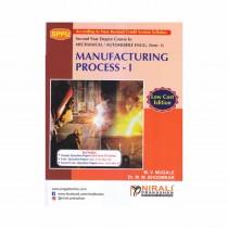 Nirali Prakashan Manufacturing Process For SE Sem I Mechanical By Bhoomkar, Mugale