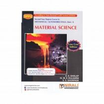 Nirali Prakashan Material Science For SE Sem I Mechanical By Gholap & Other