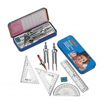 Omega Deluxe Mathematical Instrument Set