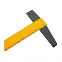 Omega Tee Square Slide Fit Moulded 24 inch & 60 cms